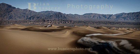 Sand Dunes, Death Valley California